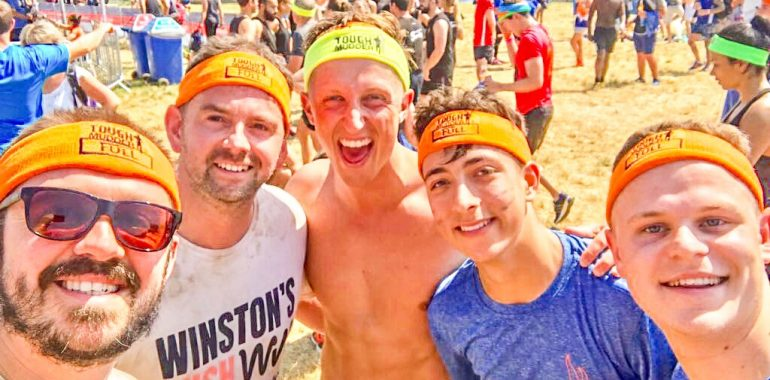 Novo take on Tough Mudder Challenge for Winston's Wish